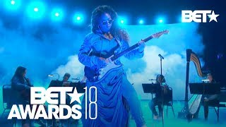 H E R Performs Amazing Live Version Of 39 Focus 39 Bet Awards 2018