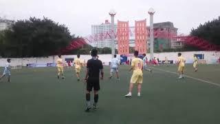 THPT Việt Hoàng tại giải bóng đá Báo An Ninh Thủ Đô gặp đội tuyển trường THPT Nguyễn Trãi