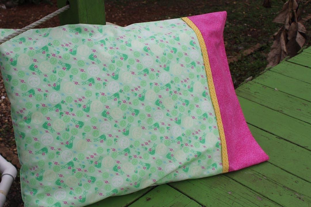 Como hacer o coser una funda de almohada youtube - Como hacer almohadones ...