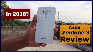 Asus ZENFONE 3 REVIEW in 2018 | Android 8.0 OREO