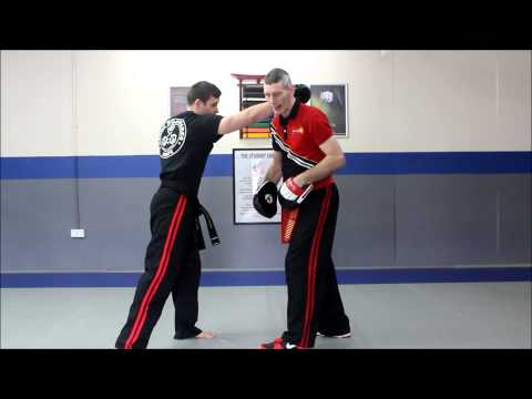 Pangamot Pad Drill - Training for Striking - Cacoy Doce Pares UK Image 1