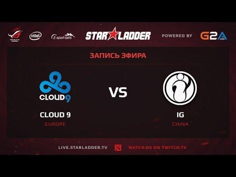 C9 vs IG SLTV XII Lan Finals LB Final Game 1