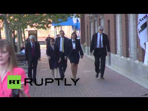 USA: Boston Marathon bombing victims arrive in court to hear Tsarnaev sentence