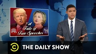 The Daily Show - Hillary Clinton and Donald Trump React to the Orlando Shooting