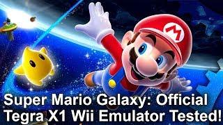 Super Mario Galaxy at 1080p! Official Nintendo Wii Emulator Analysis - Tegra X1/Shield TV Gameplay