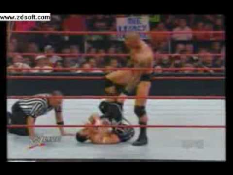 WWE randy orton vs evan bourne & jack swagger & mark henry gauntlet match part 1/2 Video
