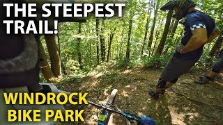 IT'S STEEP, ROCKY, ROUGH and GNARLY!! Epic day at Windrock Bike Park | Jordan Boostmaster
