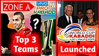 Top 6 Teams Who Will Qualify For Playoffs | Kabaddi World Cup 2019 Starting Date