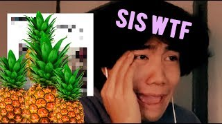 i watched the pineapple girl video (18+)