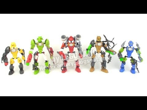 LEGO Hero Factory Breakout wave 1 heroes recap