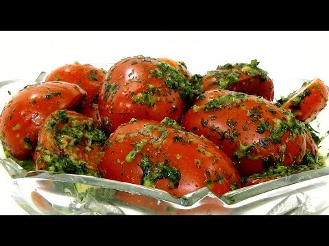 Помидоры По-Корейски(Очень Вкусно)/Tomatoes in Korean/Холодная Закуска/Простой Рецепт