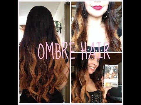 Mechas californianas/Ombre hair (Kit de L'oreal)