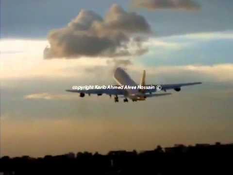 طيار سعودي ينقذ الركاب من كارثه اصطدام بحاجز حديدي