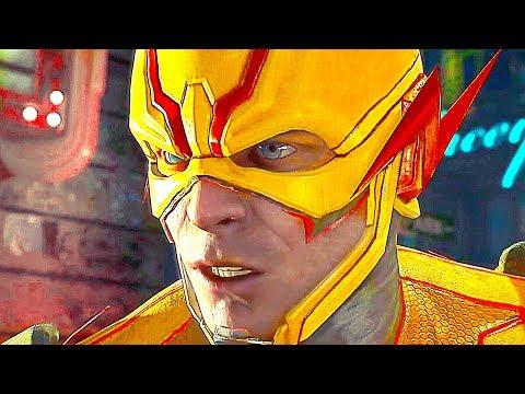 Flash Vs Flash Reverso  Pelea Completa (Español Latino) - Injustice 2