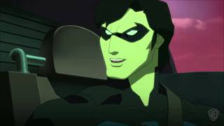Justice League vs. Teen Titans - Nightwing takes Robin to Titans HQ