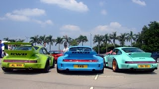 Porsche Hong Kong meeting: RWB