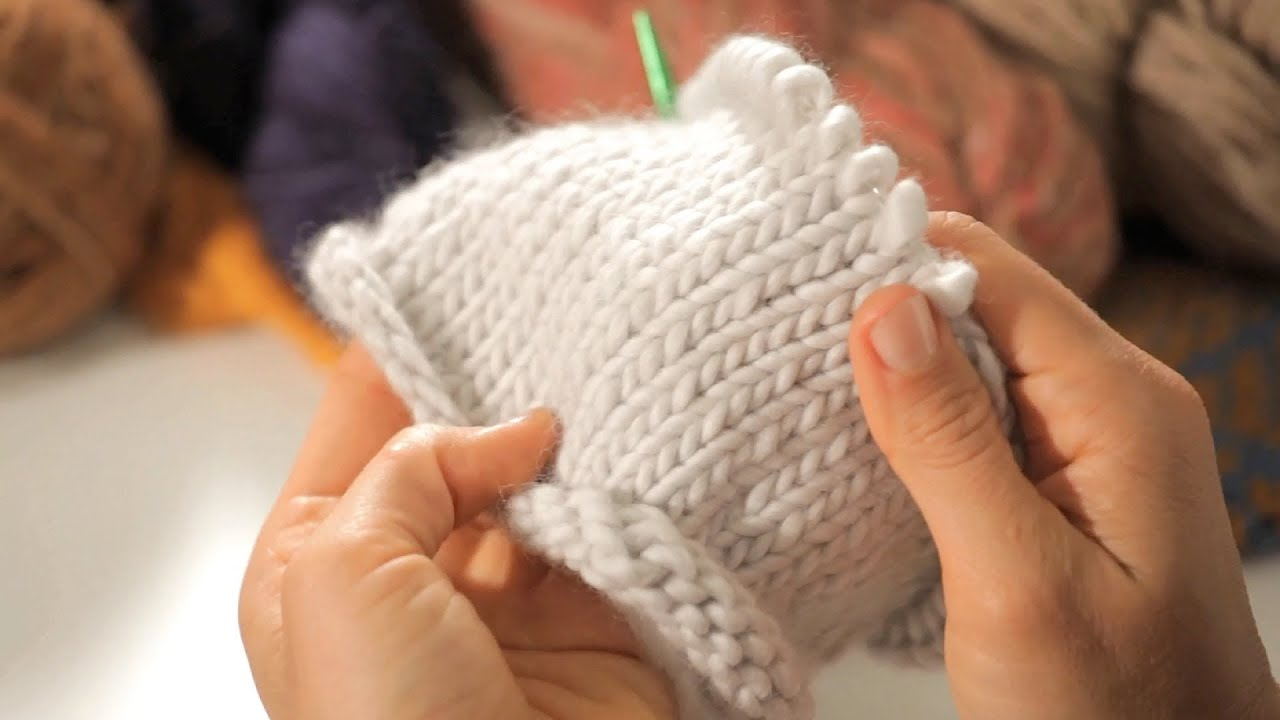 Knitting In The Round : Stockinette stitch in the round circular knitting youtube