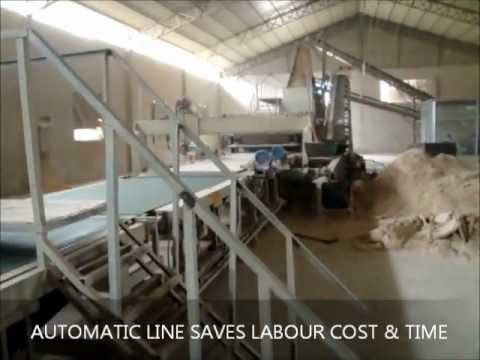 Automatic Particle Board Production Line PLC controlled(JAMUNA ENGINEERING COMPANY) INDIA