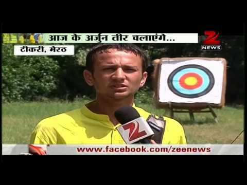 Gurukul prabhat ashram Meerut preparing for 2016 Olympics