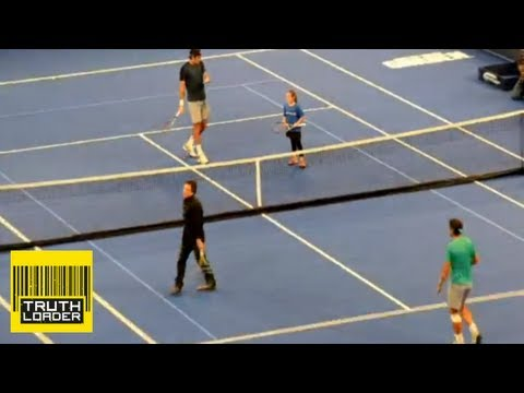 Little girl beats Ben Stiller at tennis with Rafa Nadal and Juan Martin del Potro - Truthloader
