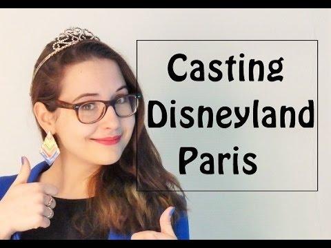 Travailler à Disneyland Paris - Casting