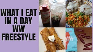 What I Eat In A Day WW Freestyle