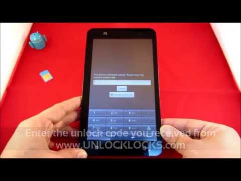 How To Unlock AT&T ZTE Z221, Z222, Z331, Z431, Z432, Z667, Z998 by Unlock Code.