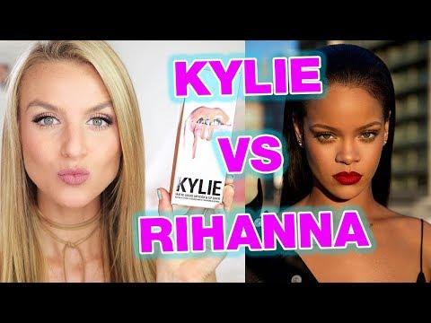 RIHANNA Fenty Beauty vs KYLIE JENNER Lip Kit - Review