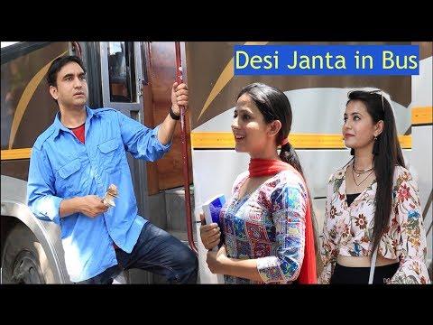Types of People in Desi Bus - | Lalit Shokeen Films | thumbnail