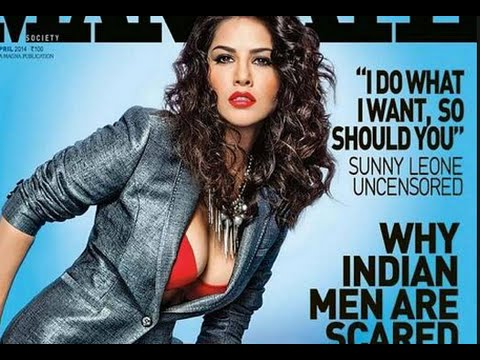 Porn Star Sunny Leone on Cover Page of Mandate Magazine