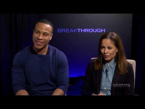 Cinemark Interviews Devon Franklin And Roxann Dawson Of Breakthrough
