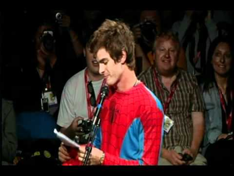 The Amazing Spider-Man - Andrew Garfield panel intro