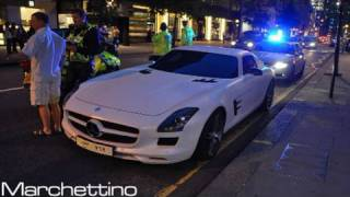 Police Stops a Mercedes SLS AMG While Speeding!!