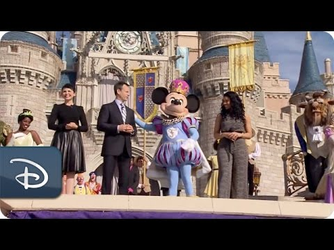 The Grand Opening Ceremony of New Fantasyland at Magic Kingdom Park