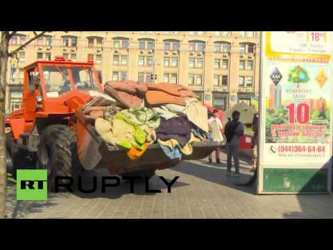 Ukraine: Maidan dismantled despite activists' protest