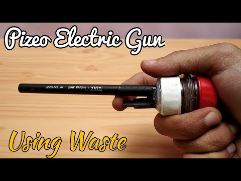 How to make Powerful Alcohol Gun using Waste at home