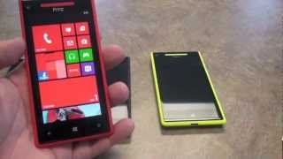 HTC Windows Phone 8X Hands On