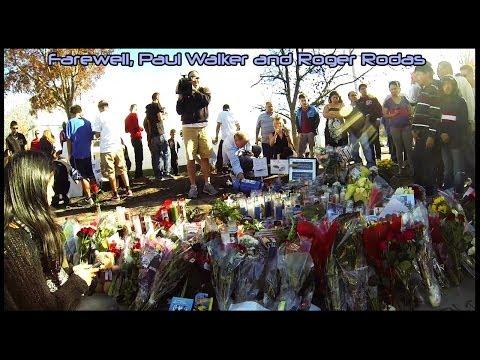 Paul Walker & Roger Rodas Crash Site, Memorial & Tribute
