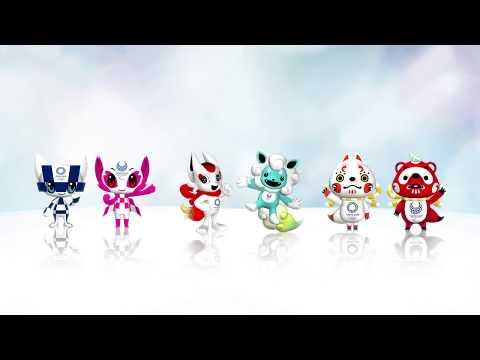 Candidatas a mascotas de los Juegos Olímpicos de Tokio