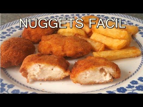 receta de NUGGETS DE POLLO caseros - CHICKEN NUGGETS recipe - recetas de cocina faciles y economicas