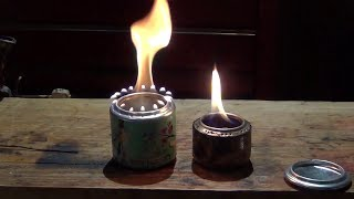 How to make an Arizona Tea can stove from start to finish- HD