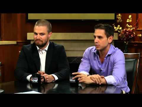 Stephen Amell and Greg Berlanti Answer Your Questions | Larry King Now