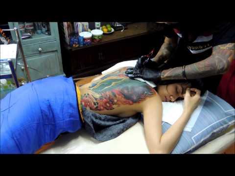 cover-up tattooงานแก้ไขรอยสัก โดย ช่างเต่า