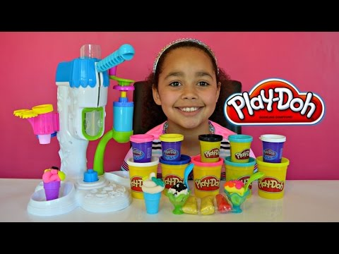 Play Doh Sweet Shoppe Perfect Twist Fun Factory Review And Play | Toys AndMe