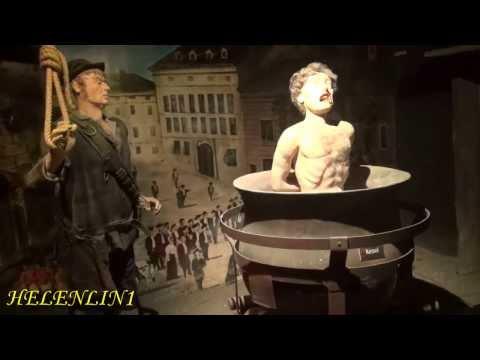 Folter museum Wien/Музей пыток в Вене . Видео Не для слабонервных.