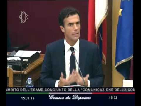 Roma - Agenda europea migrazione, audizione Gozi (15.07.15)