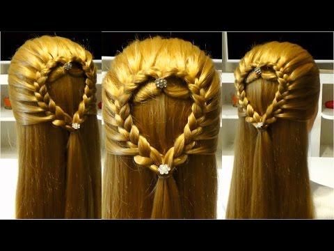 прически плетение волос легкие