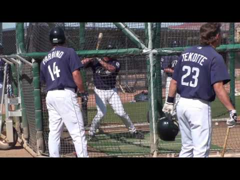 Logan Forsythe of the San Diego Padres (HD)
