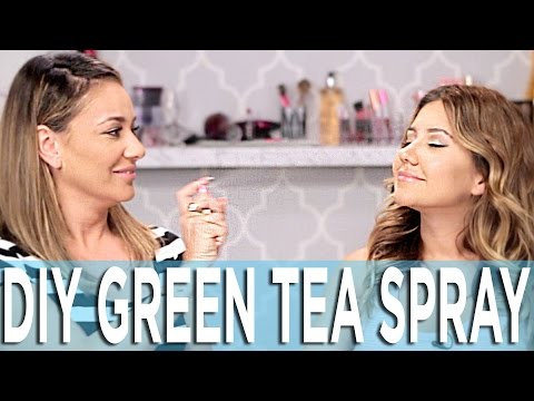 How To Make Green Tea Spray - Your Skin's New Best Friend - YouTube