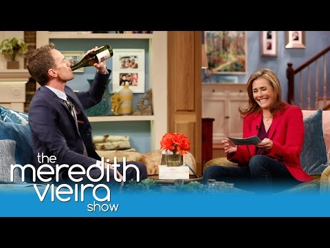 Meredith and Neil Patrick Harris Play Drink or Dish | The Meredith Vieira Show